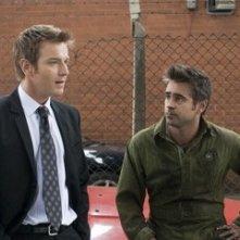 Ewan McGregor e Colin Farrell in una sequenza di Sogni e Delitti