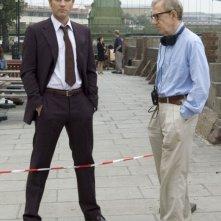 Ewan McGregor e Woody Allen in una scena di Sogni e Delitti