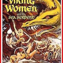 La locandina di Le donne vichinghe e il dio serpente - La leggenda vichinga