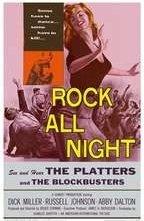 La locandina di Rock tutta la notte