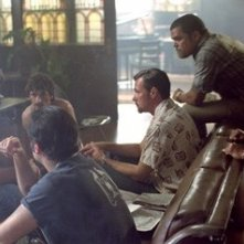 Russell Crowe in una sequenza del film American Gangster