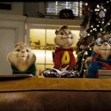Una scena del film Alvin Superstar