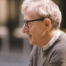 Woody Allen sul set di Sogni e Delitti
