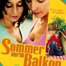 La locandina di Un'estate sul balcone