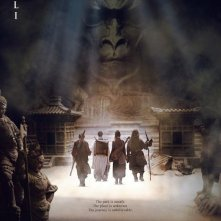 La locandina del film The Forbidden Kingdom