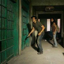 Heroes Volume II - Episodio 3: Maya (Dania Ramirez ) e Alejandro (Shalim Ortiz) scappano da una prigione