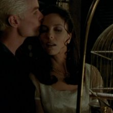 James Marsters e Juliet Landau nell'episodio 'La verità fa male' di Buffy - L'ammazzavampiri