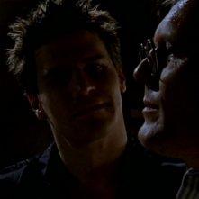 David Boreanaz e Anthony Head in una sequenza dell'episodio 'L'inizio della storia (2ª parte)' della seconda stagione di Buffy - L'ammazzavampiri