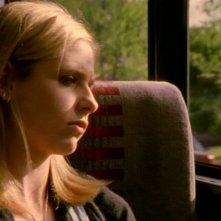 Sarah Michelle Gellar nell'episodio 'L'inizio della storia (2ª parte)' di Buffy - L'ammazzavampiri