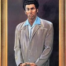 Un quadro raffifurante Kramer, uno dei protagonisti di Seinfeld