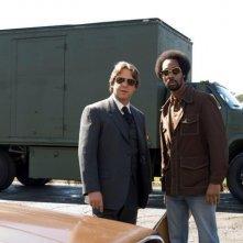Russell Crowe e RZA in una sequenza di American Gangster