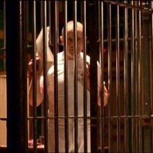 Anthony Hopkins in una scena del thriller IL SILENZIO DEGLI INNOCENTI