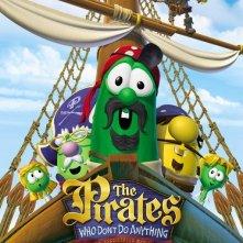 La locandina di The Pirates Who Don't Do Anything: A VeggieTales Movie