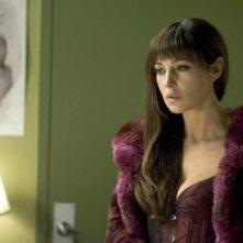 Monica Bellucci in un'immagine del thriller Shoot 'Em Up