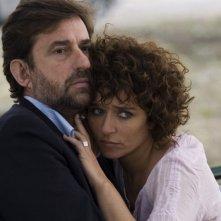Nanni Moretti e Valeria Golino in una scena di Caos Calmo