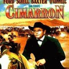 La locandina di Cimarron