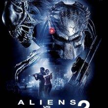 La locandina italiana di Alien Vs. Predator 2
