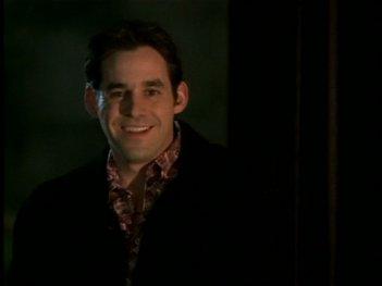 Nicholas Brendon nell'episodio 'Il giorno dell'Apocalisse' di Buffy - L'ammazzavampiri
