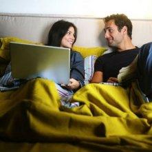 Raoul Bova e Michela Quattrociocche in un'immagine di Scusa, ma ti chiamo amore