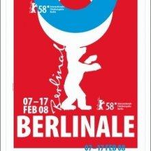 Il manifesto ufficiale del 58esimo Festival di Berlino