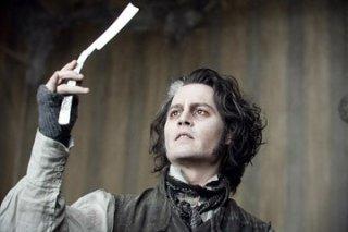 Johnny Depp è il protagonista di Sweeney Todd