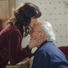 Laura Linney e Philip Bosco, in una scena de La famiglia Savage