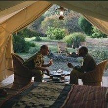 Jack Nicholson insieme a Morgan Freeman in una sequenza di Non è mai troppo tardi