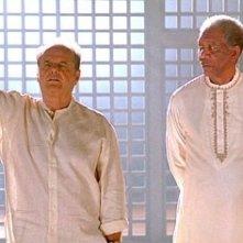 Jack Nicholson e Morgan Freeman sono i protagonisti di Non è mai troppo tardi