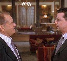 Jack Nicholson e Sean Hayes in una scena di Non è mai troppo tardi