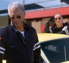 Jack Nicholson (in fondo) con Morgan Freeman in una sequenza di Non è mai troppo tardi