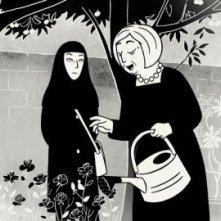 Un'immagine del film Persepolis, ispirato all'omonima graphic novel di Marjane Satrapi