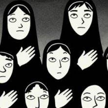 Una sequenza del film Persepolis, ispirato all'omonima graphic novel di M. Satrapi