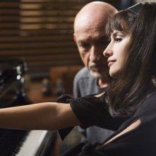 Ben Kingsley e Penélope Cruz in una scena di 'Elegy'
