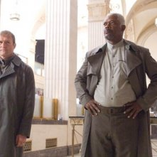 Samuel L. Jackson in una scena del film Jumper - Senza confini