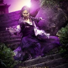 Character poster per Liu Yefey e il film The Forbidden Kingdom
