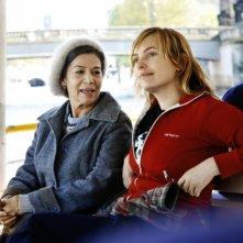 Hannelore Elsner e Nadja Uhl in una scena di Cherry Blossoms - Hanami