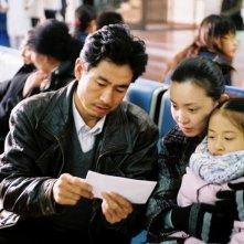 Taisheng Chen e Lan Weiwei in una scena di In Love We Trust