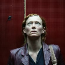 Tilda Swinton in una scena di 'Julia'