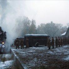 Una scena di 'Katyn'