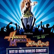 La locandina di Hannah Montana/Miley Cyrus: Best of Both Worlds Concert Tour