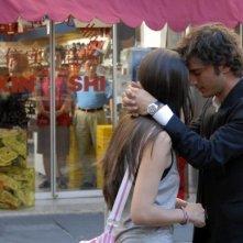 Nicolas Vaporidis con Valentina Izumì in una sequenza della commedia Questa notte è ancora nostra