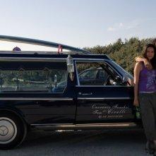 Nicolas Vaporidis e Valentina Izumì in un'immagine del film Questa notte è ancora nostra