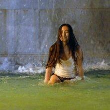 Valentina Izumì in una scena del film Questa notte è ancora nostra