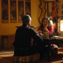 Valentina Izumì in una sequenza del film Questa notte è ancora nostra