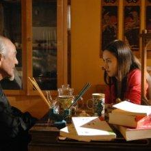 Valentina Izumì in una sequenza del teen romance italiano Questa notte è ancora nostra