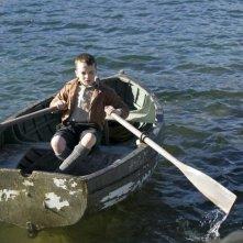 Il piccolo Alex Etel in The Water Horse - La leggenda degli abissi