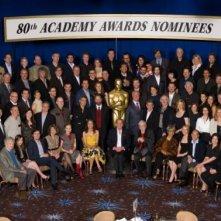 Tutti (o quasi) i nominati agli ottantesimi Oscar al Nominees Luncheon del 4 febbraio 2008