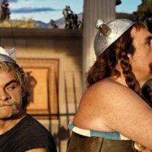 Cornillac e Depardieu in una scena di Asterix alle Olimpiadi