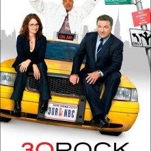 La locandina della seconda stagione di 30 Rock