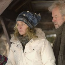 Julie Christie e Gordon Pinsent in una scena di Away from Her - Lontano da lei